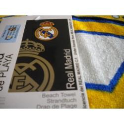 TOALLA REAL MADRID 62032 NEGRA 100*170